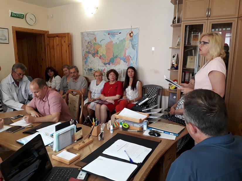 Проведено совещание, посвящённое вопросам развития наркологической службы региона